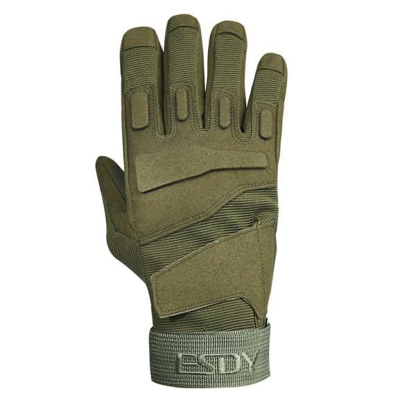Перчатки тактические Tactician G-03 Full Finger Green  Tactician