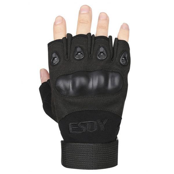 Перчатки тактические Tactician G-13 Half Finger Black  Tactician