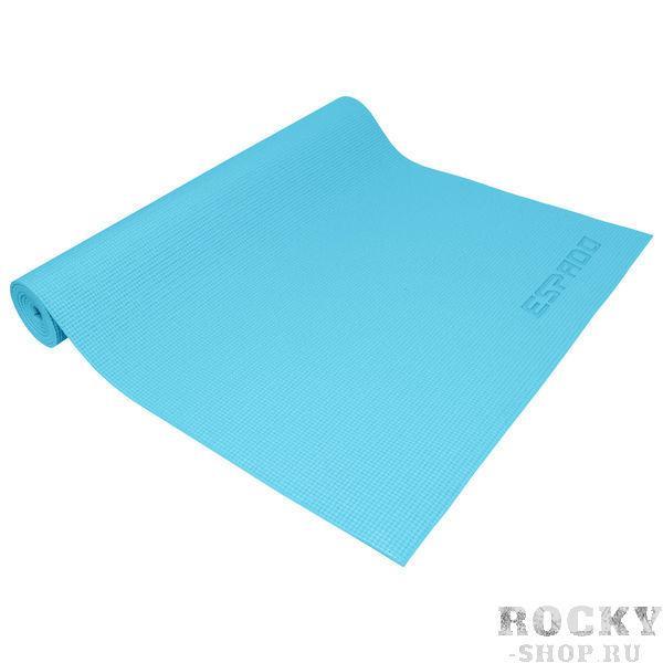 Коврик для йоги pvc 173*61*0.5 см голубой ESPADO