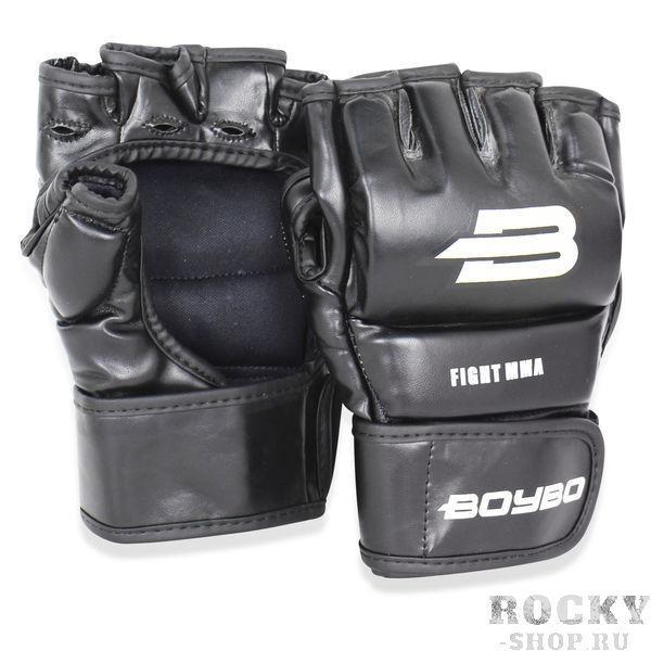 Перчатки MMA BoyBo Challenger Black/White Boybo