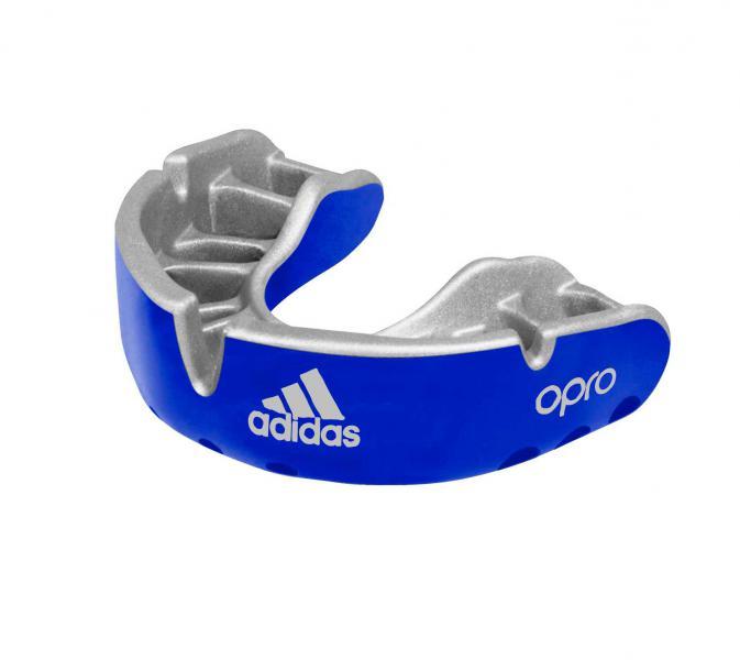Капа одночелюстная Opro Gold Gen4 Self-Fit Mouthguard синяя Adidas