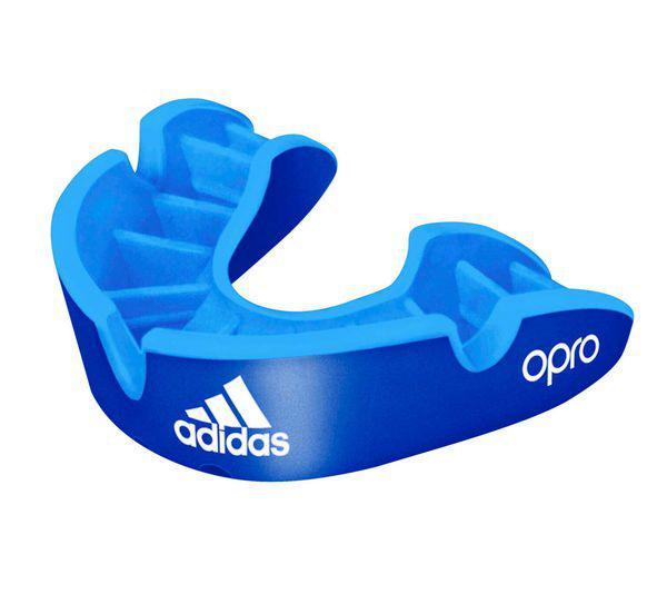 Капа одночелюстная Opro Silver Gen4 Self-Fit Mouthguard синяя Adidas