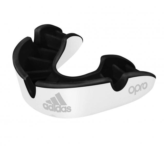 Капа одночелюстная Opro Silver Gen4 Self-Fit Mouthguard белая Adidas