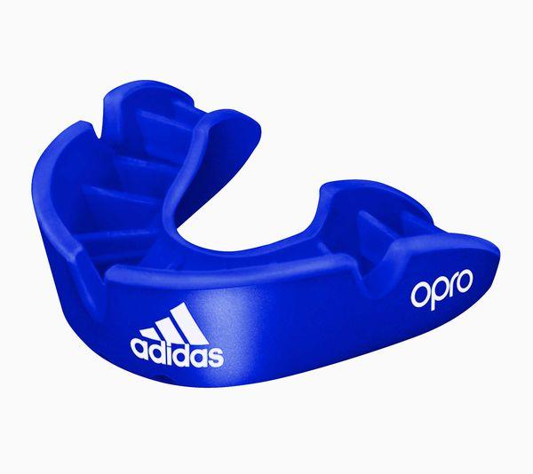 Капа одночелюстная Opro Bronze Gen4 Self-Fit Mouthguard синяя Adidas