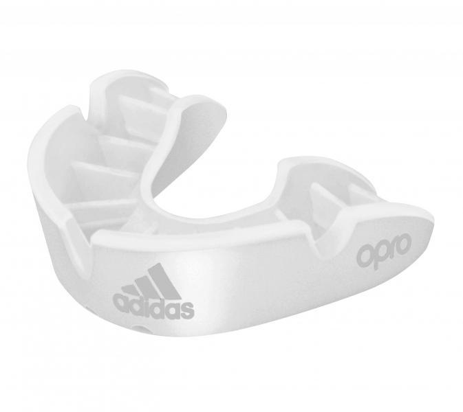 Капа одночелюстная Opro Bronze Gen4 Self-Fit Mouthguard белая Adidas