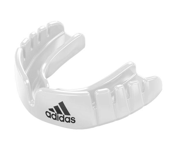 Капа одночелюстная Opro Snap-Fit Mouthguard белая Adidas