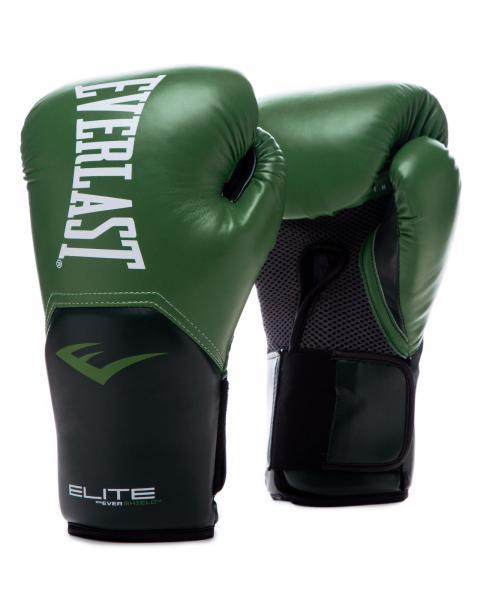 Перчатки боксерские Everlast New Pro Style Elite, Green, 12 OZ Everlast