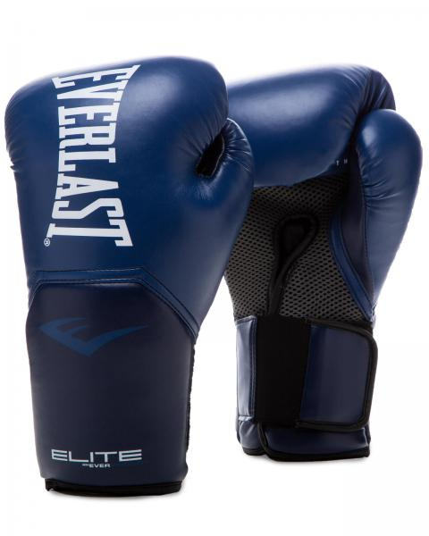 Перчатки боксерские Everlast New Pro Style Elite, Navy, 12 OZ Everlast