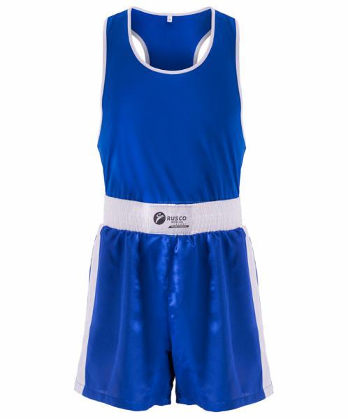 Детская форма для бокса Rusco Sport синяя Rusco
