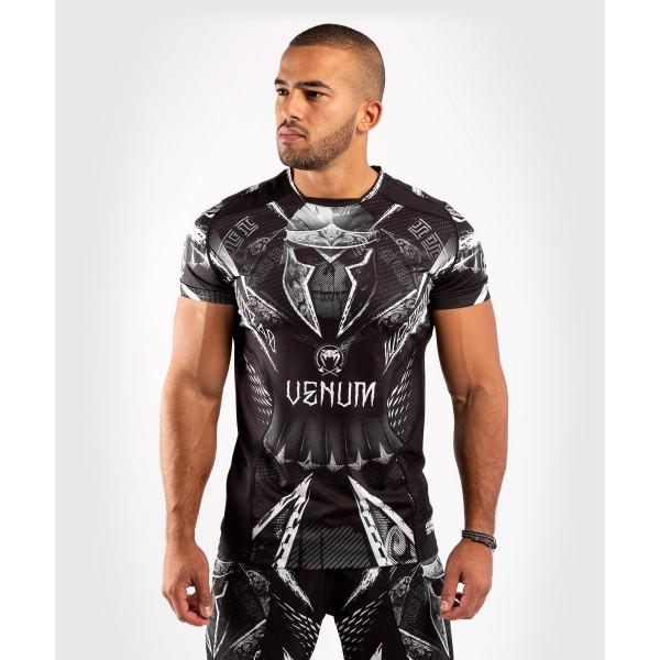 Футболка Venum Gladiator 4.0 Dry Tech Black/White Venum
