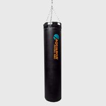 Мешок боксерский, 35 кг, гелевый, кожа, 30х120 см AquaboxСнаряды для бокса<br>120 см длина30 см диаметр35 кг веснатуральная кожапневмоподкачка жесткости&amp;lt;p&amp;gt;Преимущества:&amp;lt;/p&amp;gt;Эксклюзивный боксерский мешок  «AQUABOX TOTALGEL» с гелевым наполнителем и возможностью регулировки жесткости.  Специально подобранные консистенции композитного наполнителя вместе с регулируемой пневмоподкачкой дают снаряду уникальные характеристики по эластичности и степени поглощения ударной нагрузки.<br>