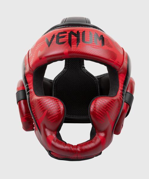 Боксерский шлем Venum Elite Red Camo Venum