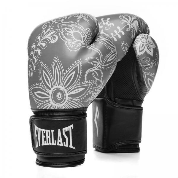 Боксерские перчатки Everlast Spark Grey Paint, 10 OZ Everlast