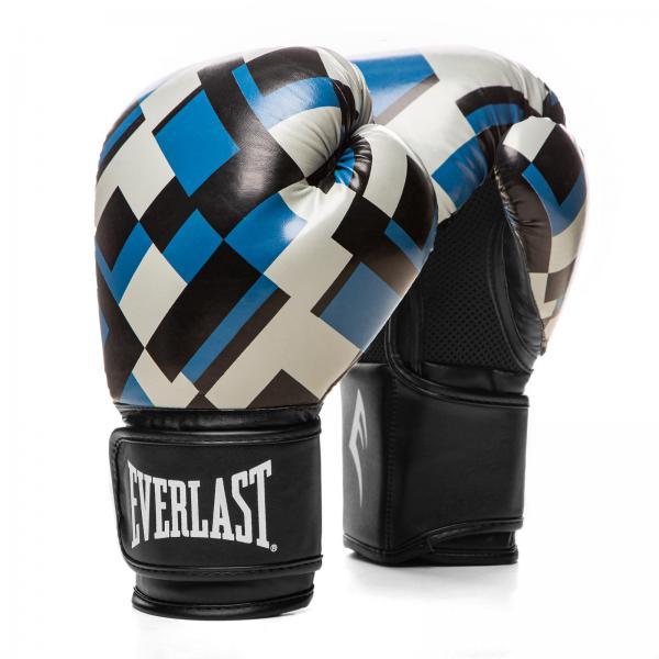 Боксерские перчатки Everlast Spark Blue Cell, 12 OZ Everlast