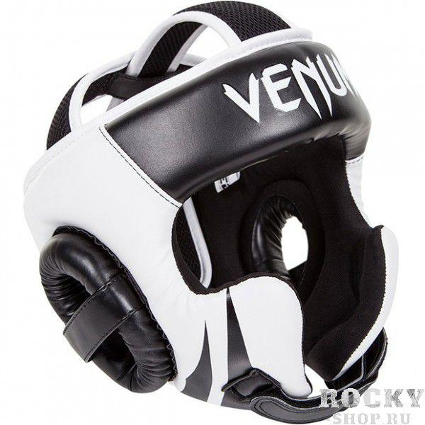 "Шлем Venum ""Challenger 2.0"" Headgear Hook & Loop Strap - Black/Ice"