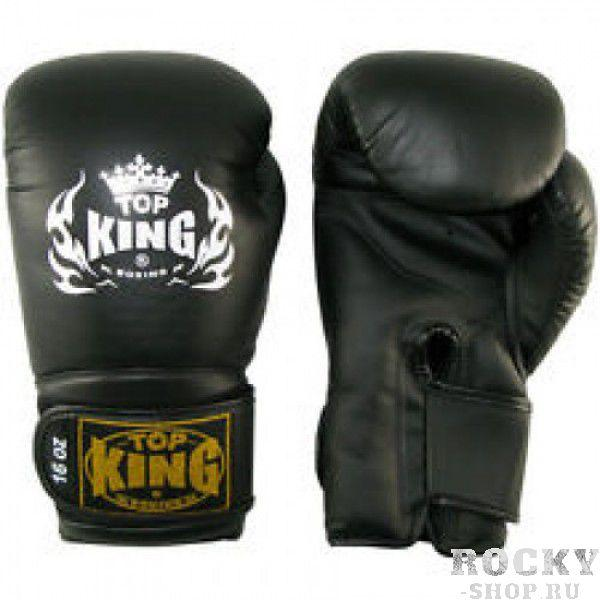 Купить Перчатки боксерские Top King Super Black (арт. 3726)