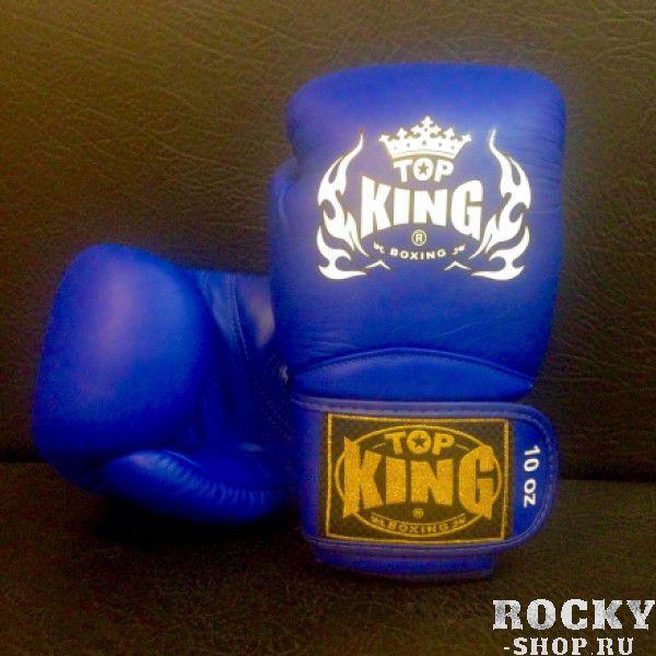 Купить Перчатки боксерские Top King Super Blue (арт. 3727)