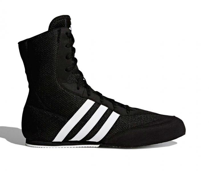 Боксерки Box Hog 2.0 черно-белые Adidas