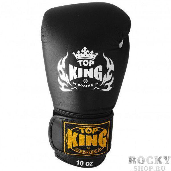 Купить Перчатки боксерские Top King Ultimate Black (арт. 3730)