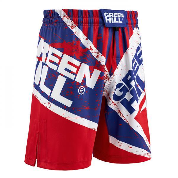 Шорты для MMA Green Hill Red/Blue Green Hill