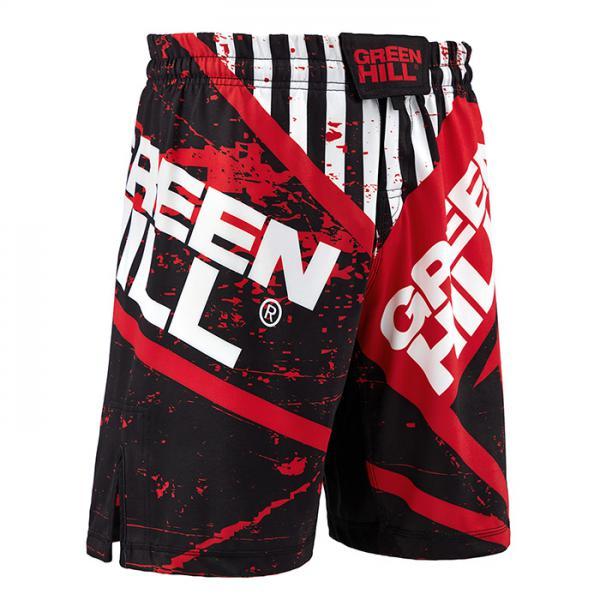 Шорты для MMA Green Hill Red/Black Green Hill