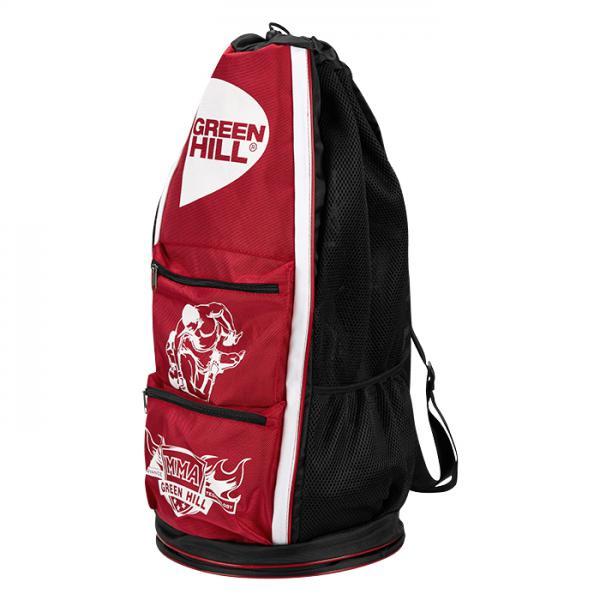 Спортивная сумка-тубус Green Hill MMA, Красная Green Hill