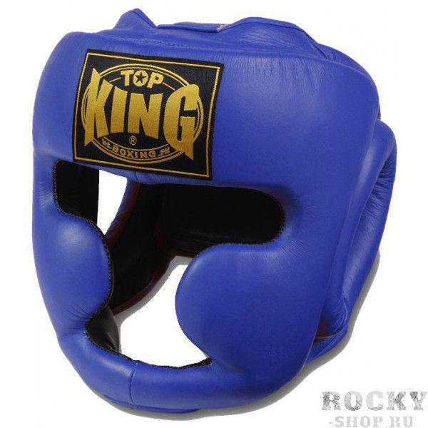 Купить Шлем боксерский Top King Blue (арт. 3735)