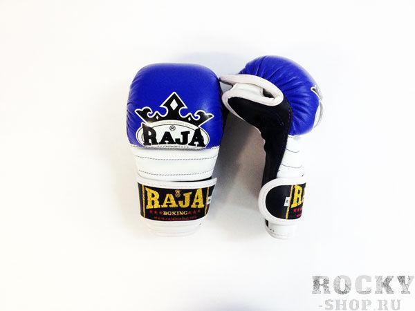 Купить Перчатки MMA, липучка Raja размер s синий (арт. 375)