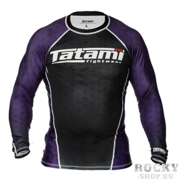 Рашгард Tatami L/S IBJJF - Purple TatamiРашгарды<br>Рашгарды, соответствующие рангам спортсменов. Сертифицированы федерацией IBJJF и подходят для всех мероприятий, проводимых данной организацией.<br><br>Размер INT: XL
