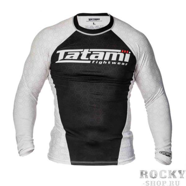 Рашгард Tatami L/S IBJJF - White TatamiРашгарды<br>Рашгарды, соответствующие рангам спортсменов. Сертифицированы федерацией IBJJF и подходят для всех мероприятий, проводимых данной организацией.<br><br>Размер INT: S
