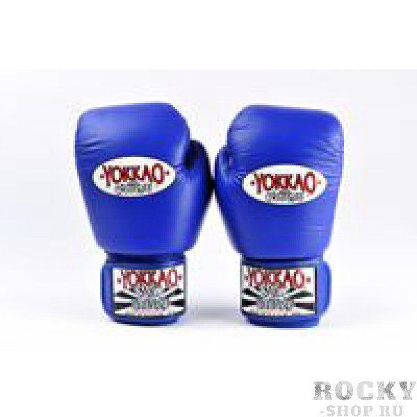 Купить Перчатки боксерские Yokkao BYGL-1 Blue (арт. 3759)