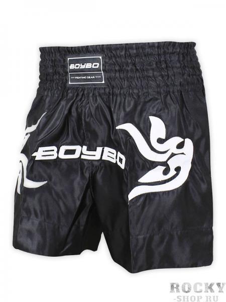 Шорты для тайского бокса Boybo Black Boybo
