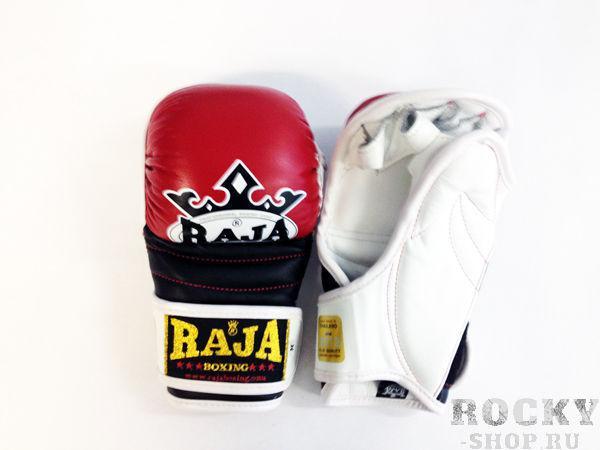 Купить Перчатки MMA, липучка Raja размер m красный (арт. 377)