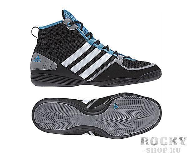 Купить Боксерки BoxFit.3 черные Adidas (арт. 3792)