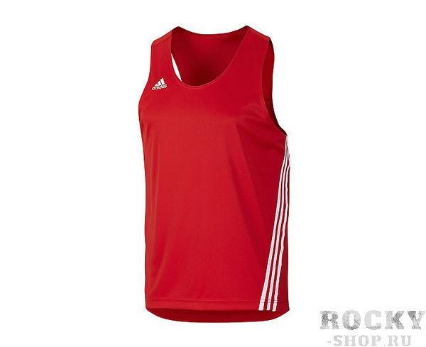 Купить Майка боксерская Base Punch Top Adidas красная (арт. 3793)