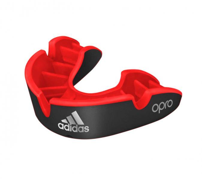 Капа одночелюстная Opro Silver Gen4 Self-Fit Mouthguard черная Adidas