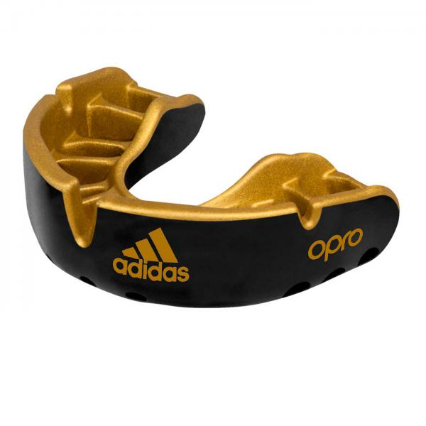Капа одночелюстная Opro Gold Gen4 Self-Fit Mouthguard черная Adidas