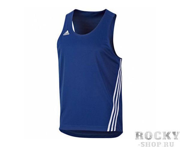 Купить Майка боксерская Base Punch Top Adidas синяя (арт. 3794)