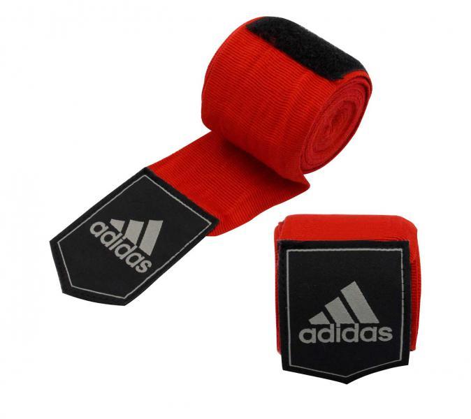 Бинт эластичный Mexican Style Boxing Crepe Bandage красный Adidas