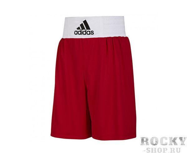 Шорты боксерские Base Punch Short красные, красные AdidasШорты для бокса<br>Форма боксерская ADIDAS Base Punch Boxing. Материал: 100% Полиэстер. Мягкая, легкая ткань ClimaLite® для превосходящего управления влажностью. Эластичный пояс (в области талии). Улучшенный комфорт и свобода передвижения.<br><br>Размер INT: XL