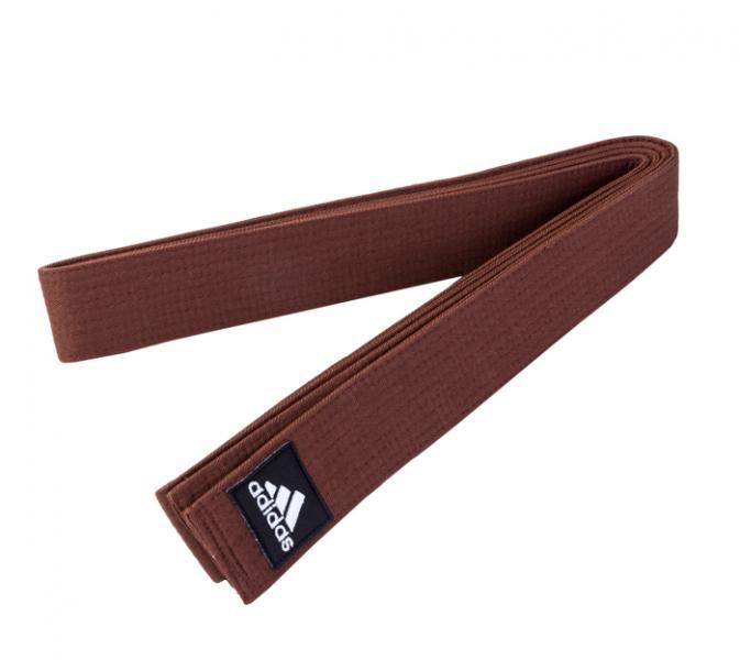Пояс для единоборств Elite Belt коричневый Adidas