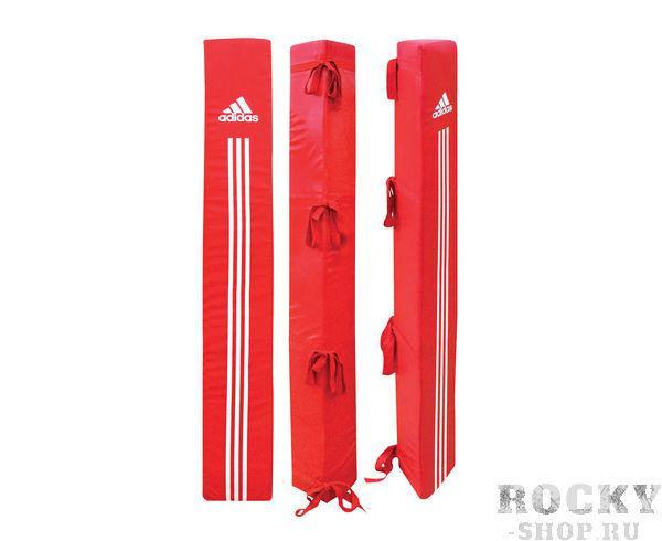 Комплект защитных угловых подушек для боксёрского ринга AIBA AdidasОборудование для залов и клубов<br>AIBA adidas corner posts. Комплект защитных угловых подушек для боксёрского ринга AIBA. Материал: полиуретан. 2-белые, 1-красная, 1-синяя.<br>