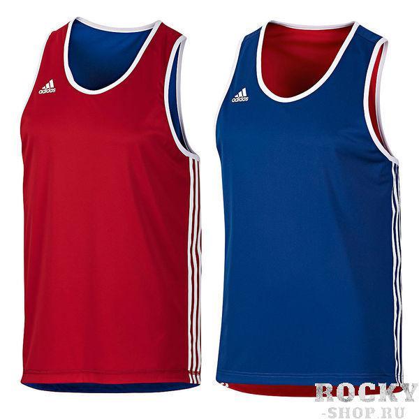 Купить Майка боксерская двухсторонняя Reversible Punch Top Adidas красно-синяя (арт. 3803)