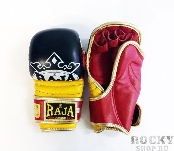 Купить Перчатки MMA, липучка Raja размер xl черный (арт. 381)