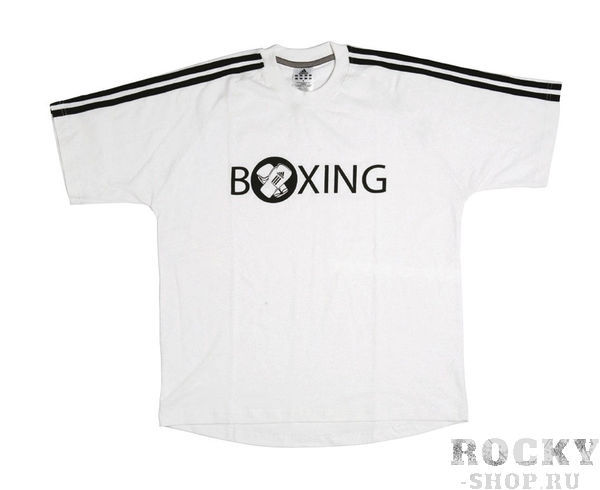 Футболка Boxing Half Sleeve Tee Shirt белая