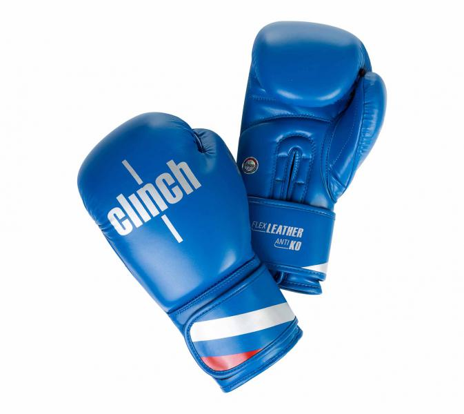 Перчатки боксерские Clinch Olimp синие, 10 унций Clinch Gear