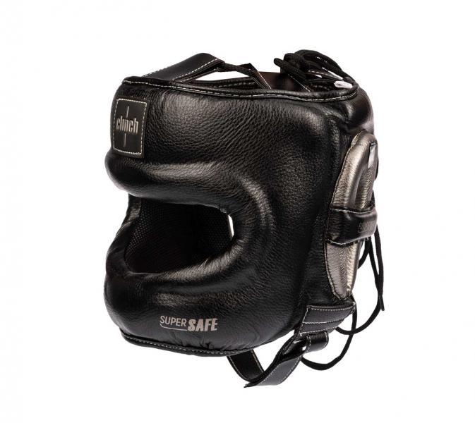 Шлем для единоборств с бампером Clinch Face Guard черно-бронзовый Clinch Gear