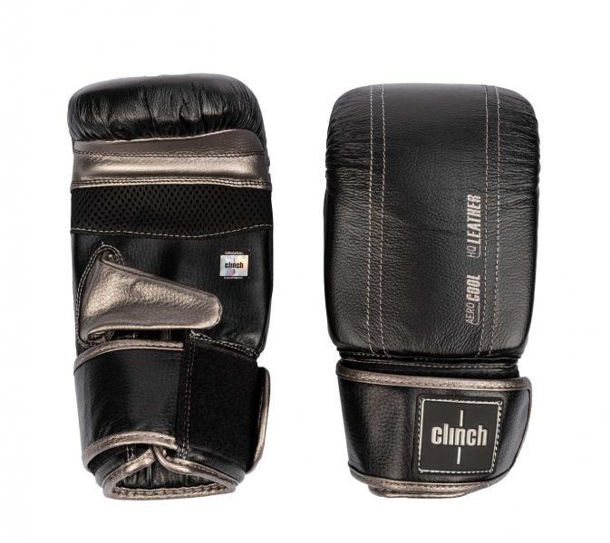 Перчатки снарядные Clinch Prime 2.0 черно-бронзовые Clinch Gear