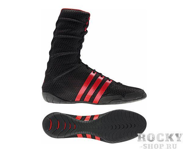 Купить Боксерки Adipower Boxing черные Adidas (арт. 3822)