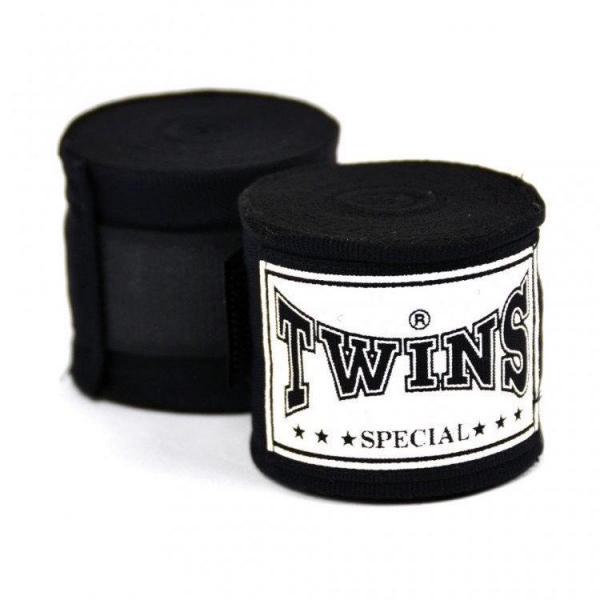 Боксерские бинты Twins Special CH5 Black Twins Special